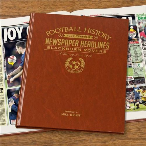 Personalised Blackburn Football Book